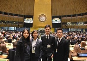 HKBU students win awards at international model United Nations conferences