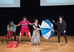 HKBU students shine in Hong Kong Creative Drama Festival