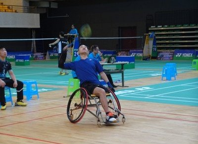 Physical Education student clinches silver medal at national para- badminton competition