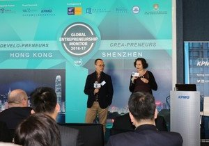 School of Business joint study finds staggering increase in Hong Kong and Shenzhen entrepreneurial activities