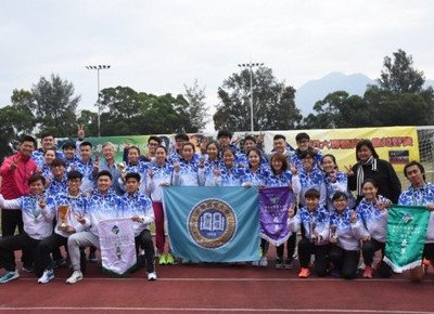 HKBU teams shine at inter-collegiate cross country race