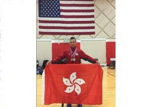 Physical Education student wins two medals at US Para-Badminton Open