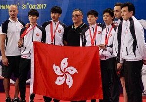 Physical Education student clinches bronze medal in Asian fencing championship