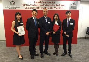 Accounting students and alumni win HKICPA scholarships