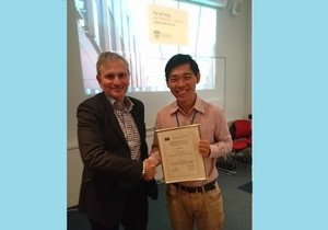 Geography scholar wins Best Conference Paper award