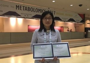 Chemistry PhD student wins awards for outstanding presentation in metabolomics study