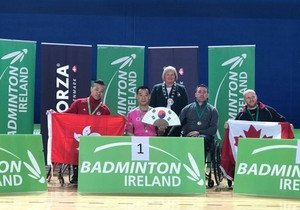 Physical Education student shines in Irish Para Badminton Open 2017