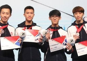 Physical Education students win bronze medal in Asian fencing competition