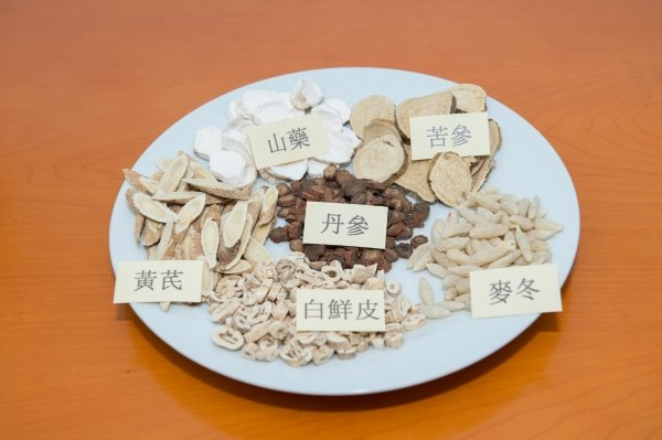 Chinese medicine herbs commonly used to treat eczema