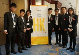 Student delegation comes third in Enactus China Regional Competition