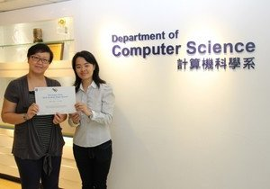 Computer Science staff and student win Best Student Paper Award in UMAP 2015