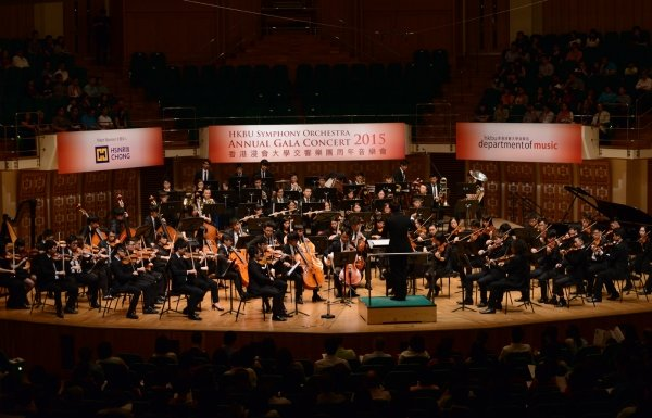 HKBU Symphony Orchestra brings a wonderful evening to a full house audience with its excellent performance