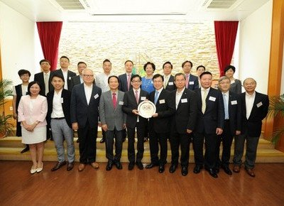 HKBU welcomes representatives from The Chinese Manufacturers' Association of Hong Kong