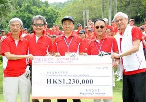 Annual Golf Day raises HK$1.23 million for University's long-term development