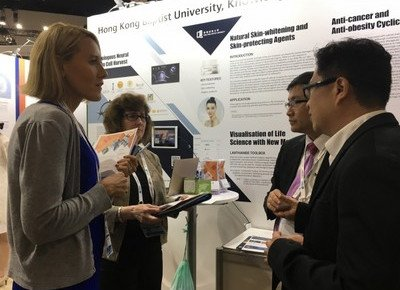 HKBU showcases biotech inventions at global expo in USA