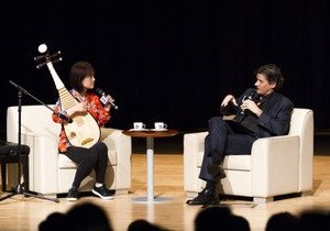 World premier pipa virtuoso Ms Wu Man shares music adventure at Belt and Road public lecture