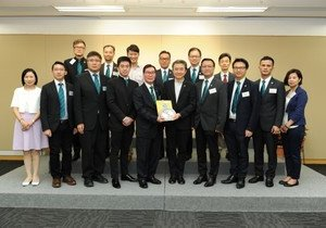 HKBU welcomes delegation from Association of Industries and Commerce of Hong Kong Southern District Limited