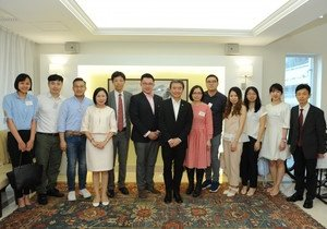 HKBU welcomes delegation from Hong Kong Youths Unified Association