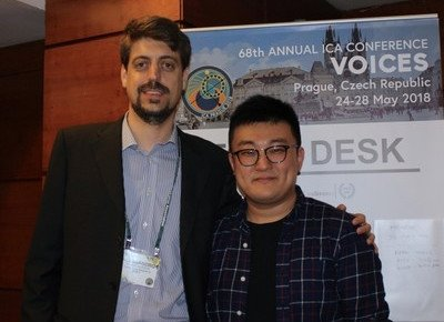 Communication scholar and PhD candidates shine at international conference