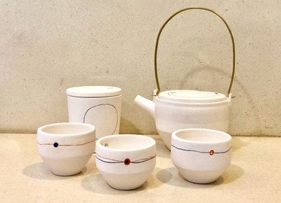 Visual Arts student and alumnus shine in tea ware competition